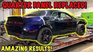 Rebuilding A Wrecked 2017 Dodge Hellcat Part 7