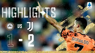 Udinese 1-2 Juventus | Ronaldo's Late Double Seals Crucial Win! | Serie A Highlights