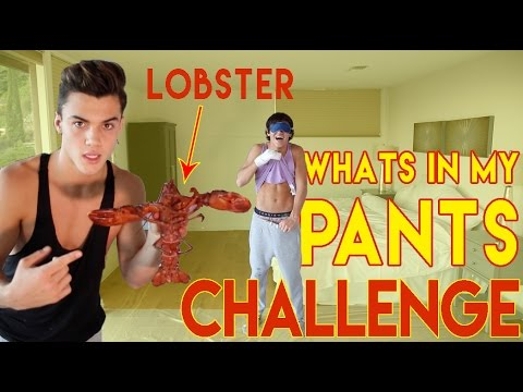 What's In My Pants? CHALLENGE