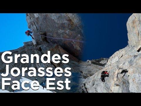 Voie Gervasutti Grandes Jorasses Face Est Courmayeur Chamonix Mont-Blanc montagne alpinisme escalade