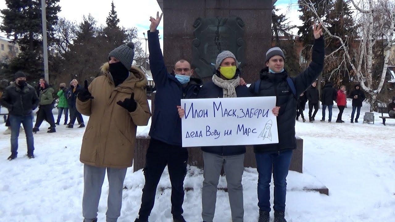 """Волгоград против ОМОНа: """"Мы здесь власть!"""""""