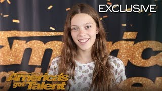 Courtney Hadwin Thanks Howie Mandel For Believing In Her - America's Got Talent 2018