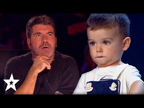 Would Simon Cowell SAY YES!?   Kids Auditions Around The World   Got Talent Global