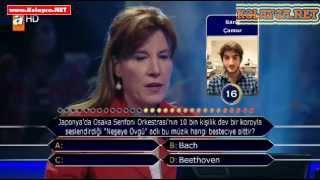 Kim milyoner olmak ister 23 Kasım 2013 287. bölüm Kübra Çamur