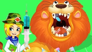 Baby Learn Jungle Animals!! Fun Help Animals From Accidents - Children Doctor Educational Game