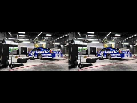 NASCAR The Game- Inside Line in 3D