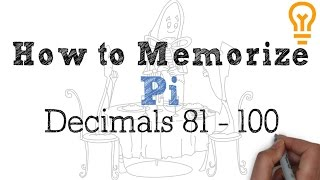 How to Memorize Pi - Easiest Way Possible (Video 5)