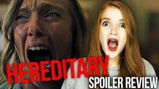 HEREDITARY (2018) REVIEW WITH SPOILERS!