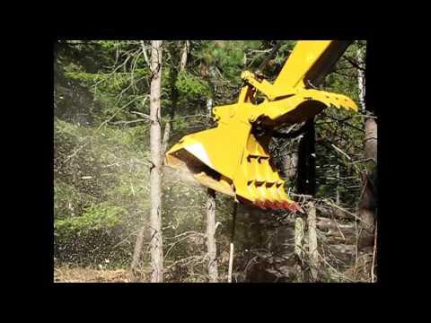 RDM Excavator Forestry Mulcher Series