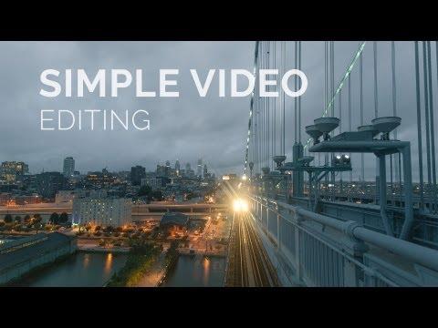 Simple Video Editing w/ Premiere Pro CS6