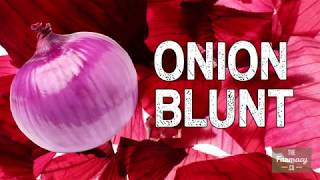 Smoking Weed Without Papers Or Pipe - DIY Rolling An Onion Blunt [Rolling Different Types Of Blunts]