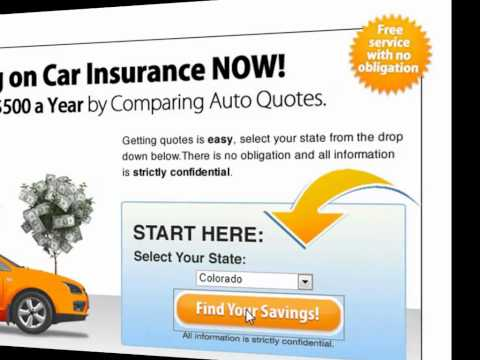 Get auto insurance quotes online   Step by step video on how to get auto insurance quotes online