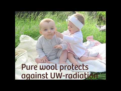 Lillelam   Wool protects against UW Radiations