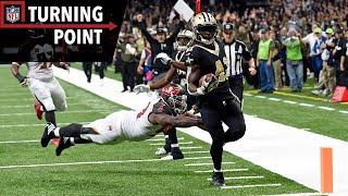 Saints Utilize Deception to Break Alvin Kamara Free vs. Buccaneers (Week 9)   NFL Turning Point