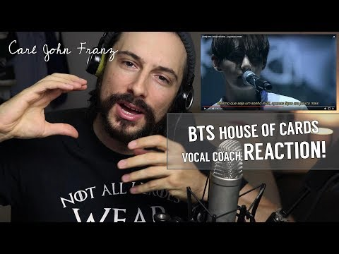 Vocal Coach REACTS, BTS House Of Cards LIVE!