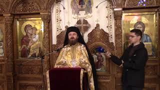 pr. arhim. Dionisie Constantin - predica la hramul Sf. Cuvios Paisie de la Neamt (15.11.2017)