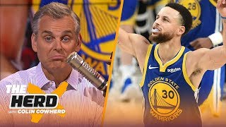 Warriors may be best team ever, Colin doesn't blame LeBron for 'distancing himself' | NBA | THE HERD