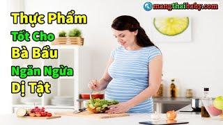 ✅ 9 Loại Thực Phẩm Tốt Cho Bà Bầu Giúp Thai Nhi Bổ Não, Ngăn Ngừa Dị Tật