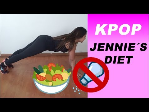 Trying JENNIE`S DIET (Kpop Diet) and this is what happened