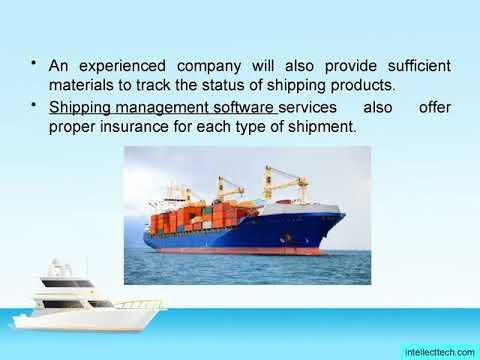 Shipping Management Software Solution
