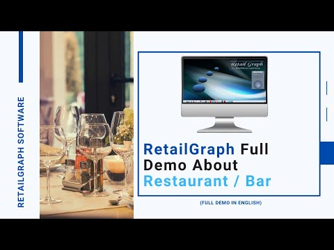 RetailGraph Restaurant Software Demo (English) | SWIL Software