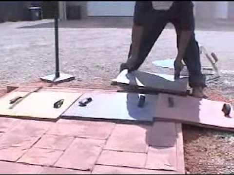 Moldex sistema de moldes para cemento estampado musica for Moldes baldosas hormigon