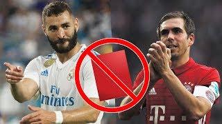 15 cầu thủ chưa từng nhận thẻ đỏ trong sự nghiệp