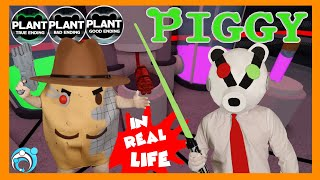 Roblox PIGGY In Real Life Chapter: 12 The Plant (Thumbs Up Family)