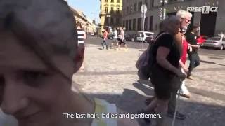 Girls get paid for a haircut bald, do you dare to try?