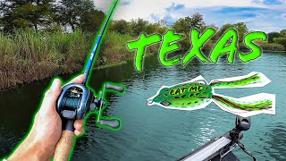 SUMMER Texas BASS Fishing Is TOUGH -- (Ft. Grant Langmore)