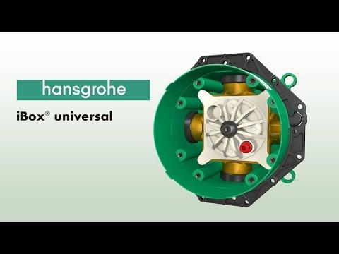 Hansgrohe iBox Universal Basic Set 1/2 and 3/4