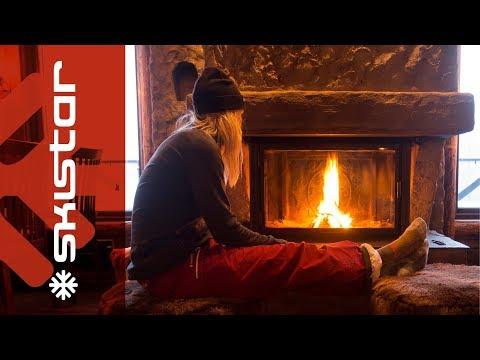 Drömlik jul i fjällen