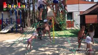 Игровые сетки и детские площадки KINDERLAND