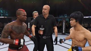 Marc Diakiese vs. Bruce Lee (EA sports UFC 3) - CPU vs. CPU