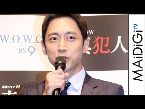 上川隆也も絶賛 小泉孝太郎のコメントが斬新すぎる? 「連続ドラマW 真犯人」完成完成披露試写会3