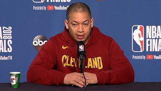 Tyronn Lue: 'We know we can beat this team,' Cavs vs. Warriors Game 4