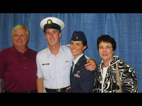 Coast Guard Petty Officer 3rd Class Colin Woodside fell 50 feet while he was rock climbing. Although Colin always wore a helmet while climbing, he took it off this time to retrieve gear at the top of the cliff. The doctors said he sustained a severe traumatic brain injury (TBI) and was unresponsive -- but alive. His parents immediately rushed to his side.