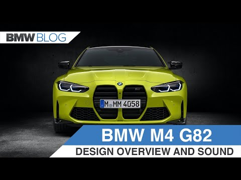 2021 BMW M4 Coupe - Design Review, Engine and Exhaust Sound