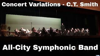 Concert Variations - Claude T. Smith