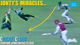 Jonty Rhodes Miracle Best Fielding Catches & Runouts | One Video to Learn How to Field !!