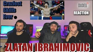 FIRST TIME REACTING To ZLATAN IBRAHIMOVIC - Craziest Skills Ever - IMPOSSIBLE Goals.