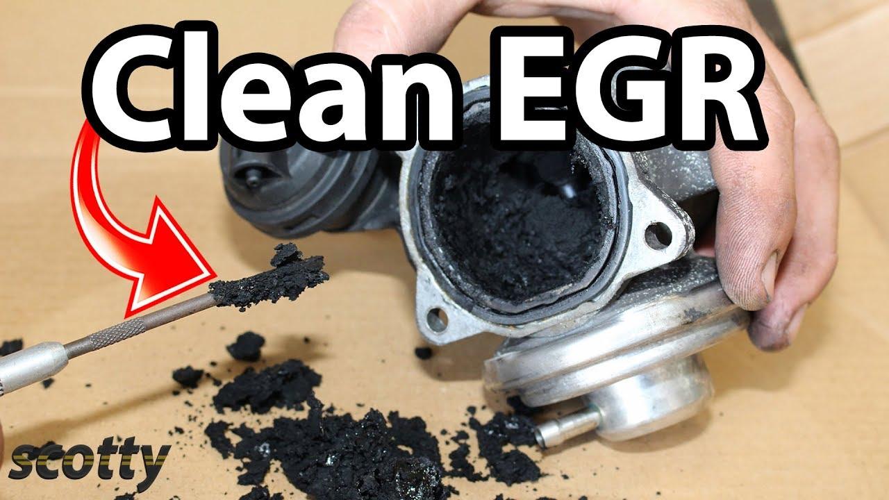 Fixing Egr Low Flow Code P0401 Youtube