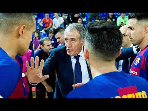 Andreu Plaza, líder de un Barça dorado