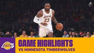 HIGHLIGHTS | LeBron James (32 pts, 13 ast, 4 reb) vs. Minnesota Timberwolves