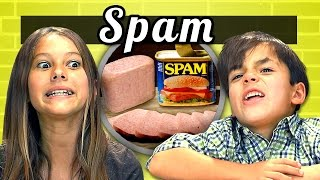 KIDS vs. FOOD #8 - SPAM