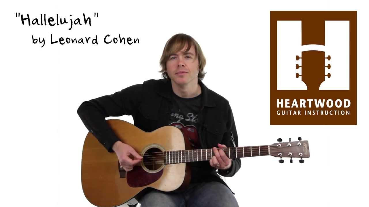 How to play Hallelujah - Jeff Buckley - Leonard Cohen ...