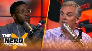 Reggie Bush talks training camp stories, Hard Knocks, Baker Mayfield & Zeke holdout | THE HERD