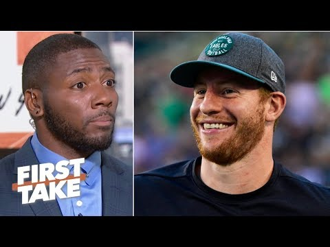 Carson Wentz will play at an MVP level and lead Eagles to NFC title game – Ryan Clark | First Take