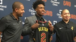Collin Sexton to wear Kyrie Irving's No. 2 with Cleveland Cavaliers