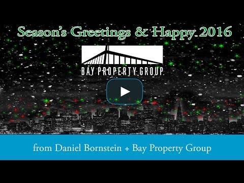 2015 Holiday from Daniel Bornstein and the Bay Property Group Team
